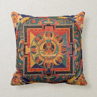 Amitayus Mandala Thangka Kissen