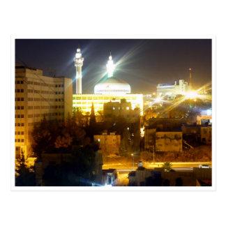 Amman-Nachtlichter Postkarte