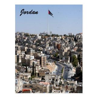 Amman-Stadt Jordanien Postkarte