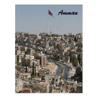 Amman-Stadt Postkarte