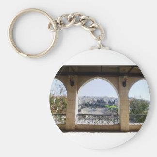 Amman-Theater-Ansicht Schlüsselanhänger