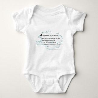 Amöben-Gedicht Baby Strampler
