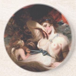 Amor, der die Zone von Venus löst Untersetzer
