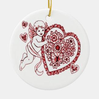 Amor Keramik Ornament