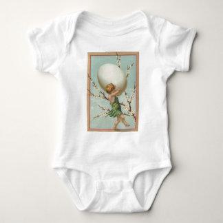 Amor-Osterei-Hartriegel-Baum Baby Strampler
