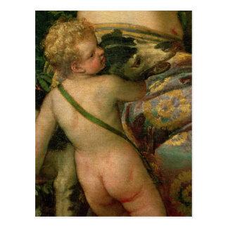 Amor, Sonderkommando von Venus und Adonis, 1580 Postkarte