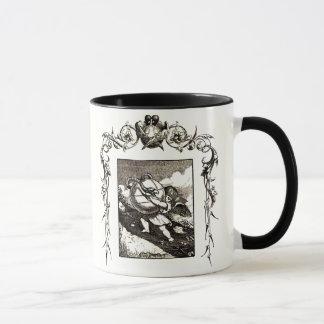 Amor wringt die Schlange - Quarles Emblem Tasse