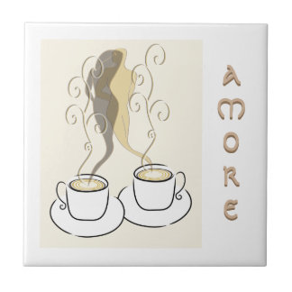 amore Kaffeetassefliese Fliese
