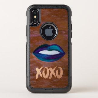 Amorous der Technologie-| Lippenstift-Diva-Zauber OtterBox Commuter iPhone X Hülle