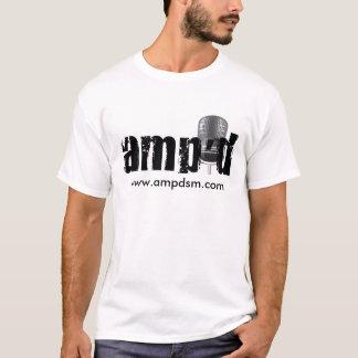 Amp'd T - Shirt mit Website
