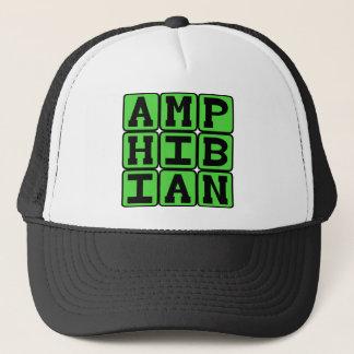 Amphibie, kaltblütiges Tier Truckerkappe