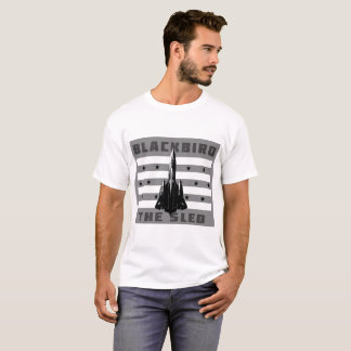 """Amsel SR-71 """"der Schlitten """" T-Shirt"""