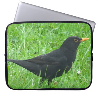 "Amselbild für Neopren-Laptop-Hülse 15"" Laptopschutzhülle"