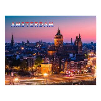 Amsterdam 003B Postkarte