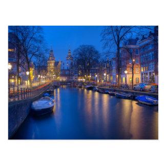 Amsterdam, die Niederlande Postkarte