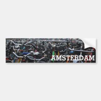Amsterdam - Fahrräder Autoaufkleber