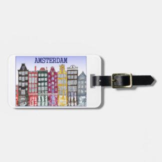 Amsterdam-Gepäckanhänger mit ursprünglicher Gepäckanhänger