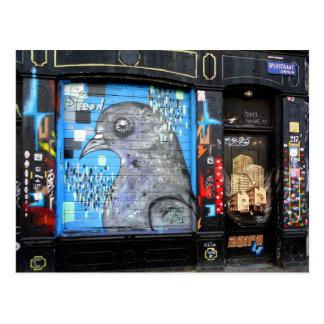 Amsterdam-Graffiti-Straßen-Kunst Nr. 3 Postkarte