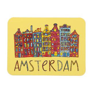 Amsterdam im Mosaik Magnet