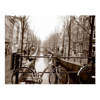 Amsterdam-Kanal Postkarte
