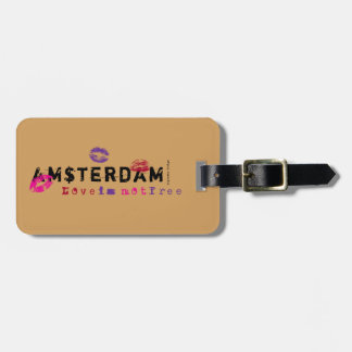 Amsterdam - Liebe ist nicht frei Kofferanhänger