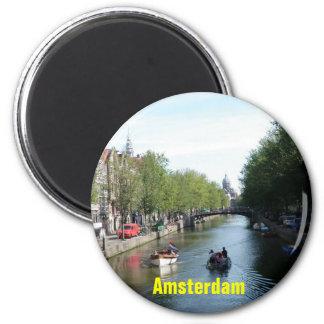 Amsterdam-Magnet Runder Magnet 5,1 Cm