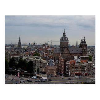 Amsterdam-Postkarte Postkarte