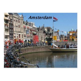 Amsterdam - Stadt [kan.k]. Postkarte