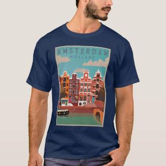 Amsterdam Stadt T-Shirt