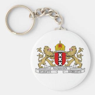 Amsterdam-Wappen Schlüsselanhänger