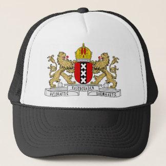 Amsterdam-Wappen Truckerkappe
