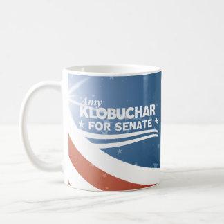 Amy Klobuchar für Senat Kaffeetasse