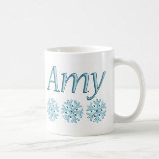 Amy-Schneeflocke Kaffeetasse