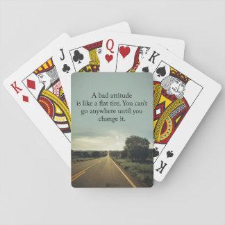 An bad Einstellung is flatlike fahrbarer Untersatz Spielkarten