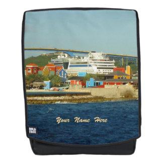 An Bucht Curaçaos St Anna personalisiert nennen Rucksack