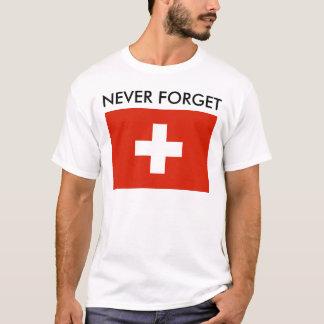 An den Krieg (die Schweiz) sich erinnern T-Shirt