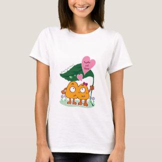 An den regnerischen Tagen zusammen haften T-Shirt