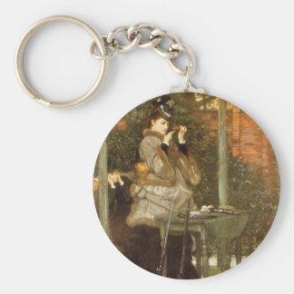 An der Gewehr-Strecke durch James Tissot, Vintage Schlüsselanhänger