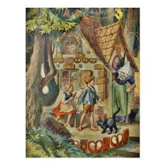 An der Hütte der Hexe Postkarte