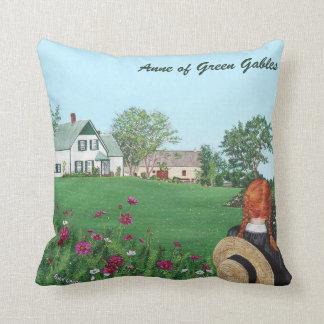 An schauend mit Liebe, Pillow Anne der grünen Kissen