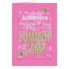 An Sie weg denken am Sommer-Lager-individuellen Karte
