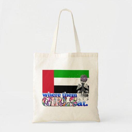 An wo sie arabische mädchen tasche