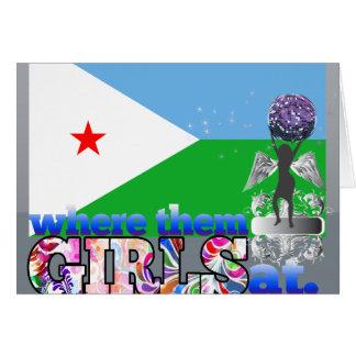 An wo sie Dschibuti-Mädchen? Karte