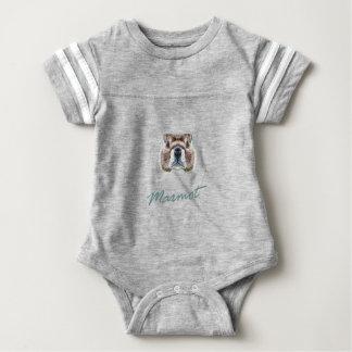 An zweiter Stelle Februar - Murmeltier-Tag Baby Strampler