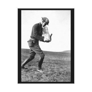 An zweiter Stelle Lieut. Paul-Wehr Cloud_War Bild Gespannter Galerie Druck
