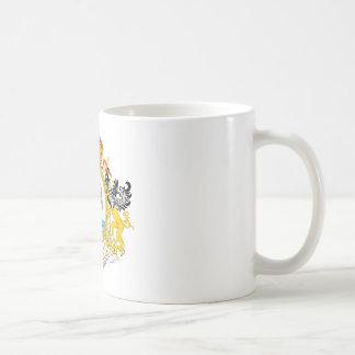 An zweiter Stelle mexikanisches Reich-Wappen Kaffeetasse
