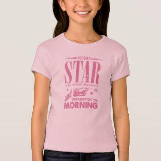 An zweiter Stelle Stern rechts T-Shirt