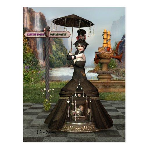 Anabellas Unterhaltungs-Postkarte