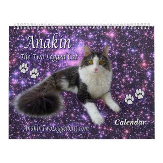 Anakin das mit Beinen versehene Kalender-Kätzchen Kalender