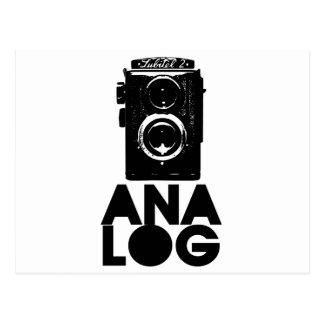 Analog! Postkarte